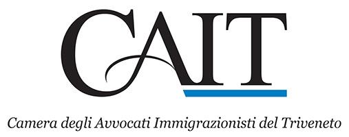 CAIT – Camera degli Avvocati Immigrazionisti del Trivenento Logo